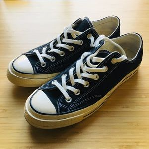Converse All Star Chuck 70 Low Top - Black (7m/9w)